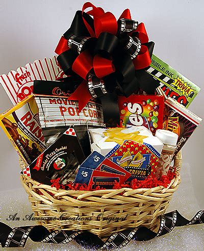 themed gifts for family movie gift basket great gifts anytime