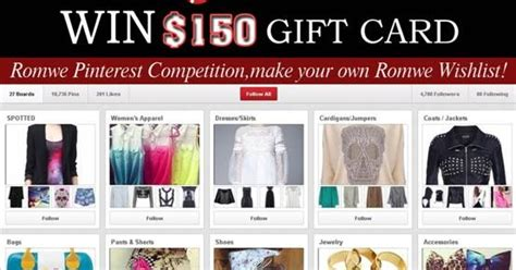 Romwe Gift Card - win 150 gift card from romwe fashion eggplant
