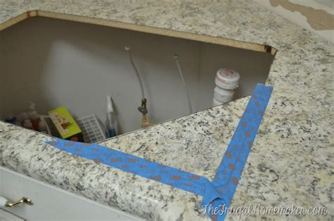 Cut Formica Countertop Without Chipping by Installing Laminate Counters Kitchen Makeover