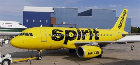 spirit airlines shows bold and yellow new livery airlinereporter airlinereporter