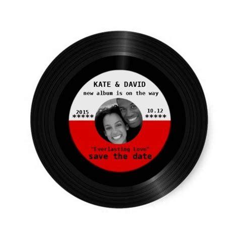 retro vinyl record modern chic retro vinyl record l modern save the date