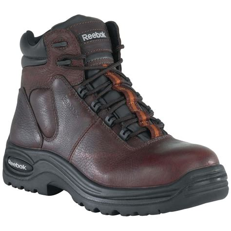 safety toe boots s reebok 174 6 quot composite safety toe sport boots
