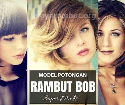 Model Rambut B by 17 Terbaik Ide Tentang Potongan Rambut Bob Di