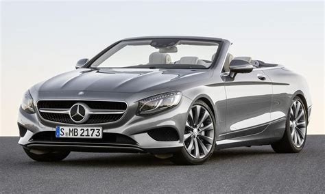 All 2017 Mercedes S Class Cabriolet Is The Big