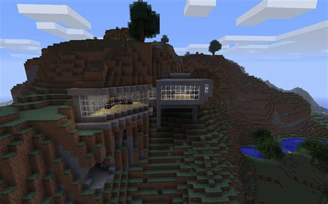 house themes minecraft minecraft building ideas modern house built into the