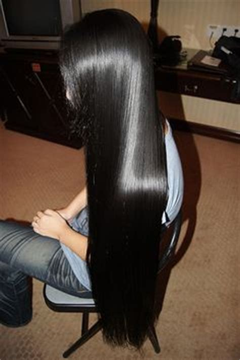 photos of lovely dark black long silky hairs of indian chinese girls in braided pony styles 1000 images about long beautiful hair on pinterest