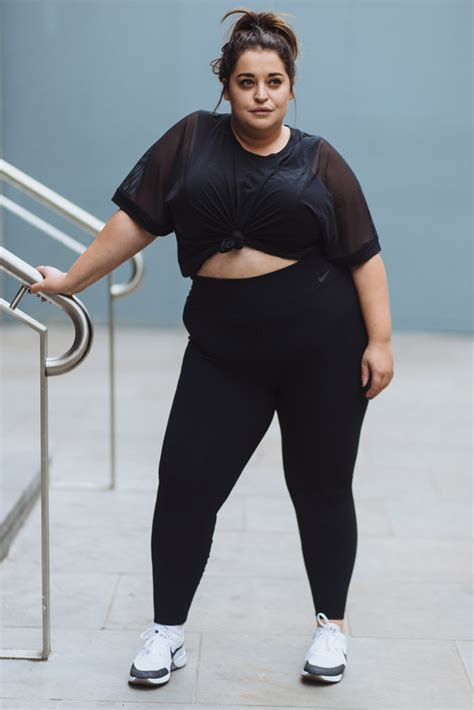 Nike Models models starring in nike s plus size caign respond to
