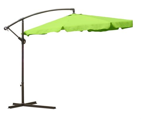 Lime Green Patio Umbrella International Concepts 10 Offset Market Umbrella In Lime Green Modern Glass Dining Table