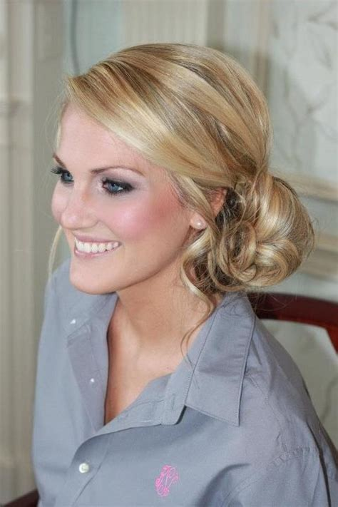 Wedding Hairstyles Side Chignon by Side Chignon Wedding Hairstyles