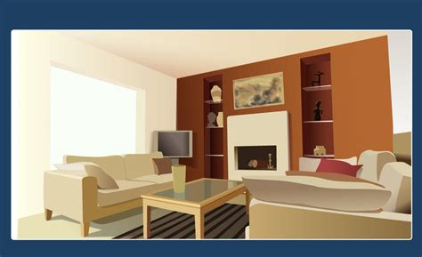 house interior vector vector interior design by neofotistou on deviantart