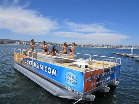 san diego boat rental deals 399 for three hour hot tub cruisin boat rental san