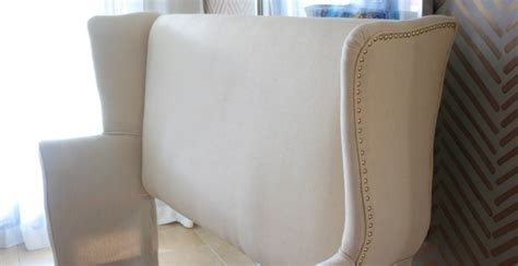 diy wingback upholstered headboard diy upholstered wingback headboard part 1 mimzy company