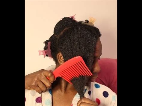 after braid removal hairstyle for black hair natural hair detangling after removing braids youtube