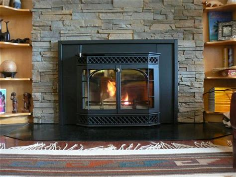 install wood stove insert into existing fireplace 28