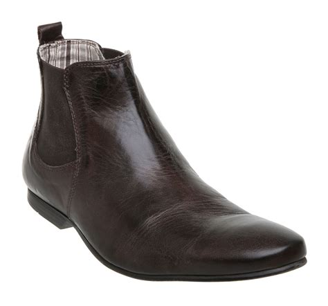 dune cabo chelsea boots in brown for lyst