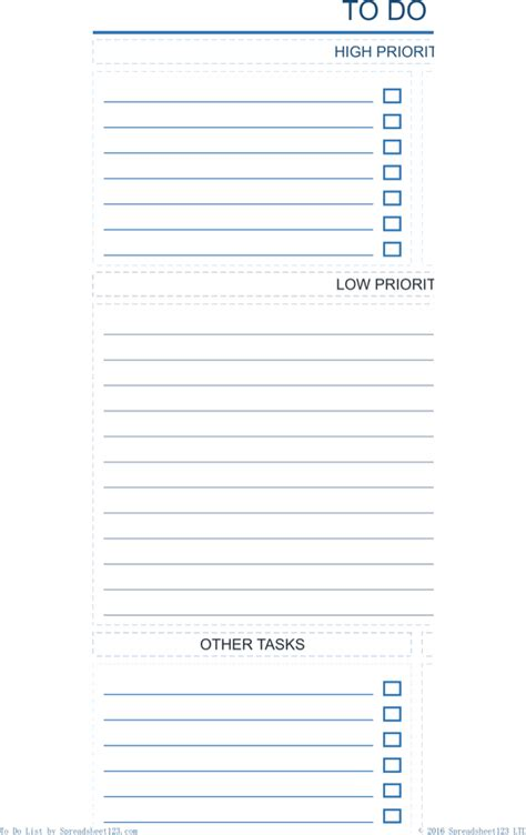 work checklist template work to do list template for free page 5