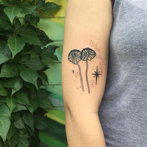 mushroom tattoo tattoo collections