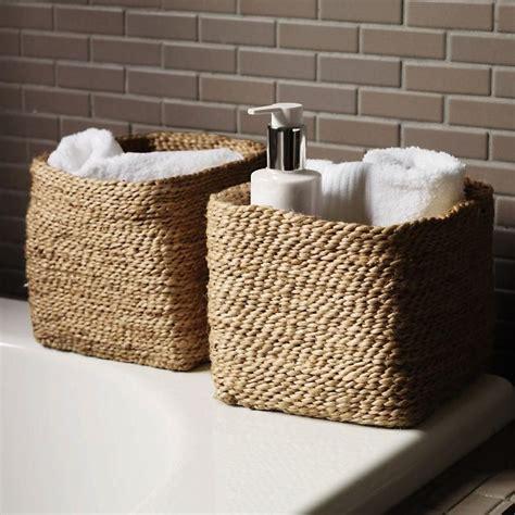 bathroom storage baskets white bathroom baskets 6 white bathroom storage baskets