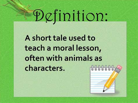 theme definition moral fables ppt video online download