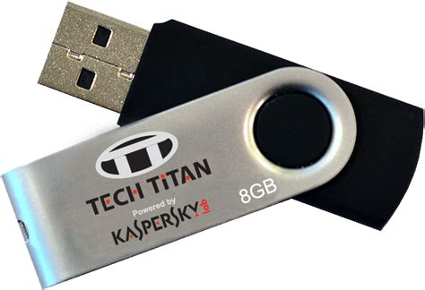 Kaspersky Tech Titan T Drive Pro 5 In 1 Tt Tdp8331 Id 3 User tech titan unveiled the world s portable anti virus