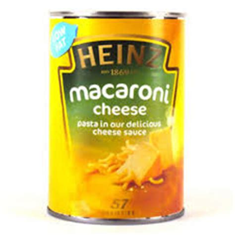 Heinz Cheesy Veg Pasta tinned fish soups veg andy freezerman another