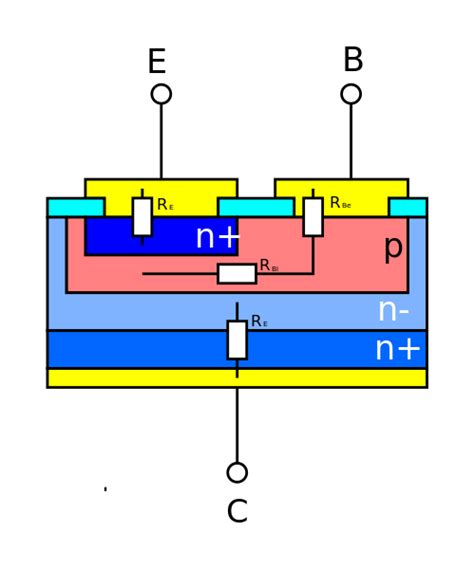 what is bulk resistor datei bulk resistors in bipolar transistor svg