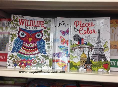 Wny Deals And To Dos Dollar Tree Coloring