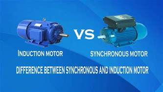 induction generator ac or dc induction motor vs synchronous motor difference between synchronous and induction motor
