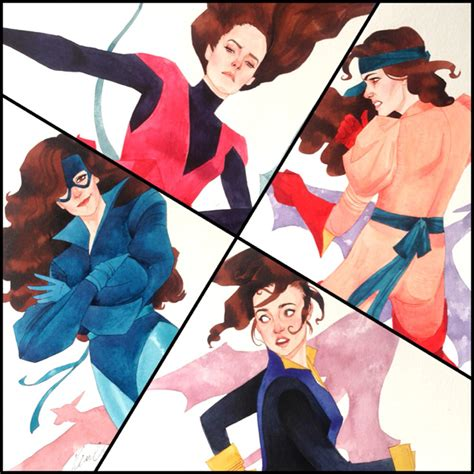 by kevin wada kitty pryde stunning kitty pryde art by kevin wada geektyrant
