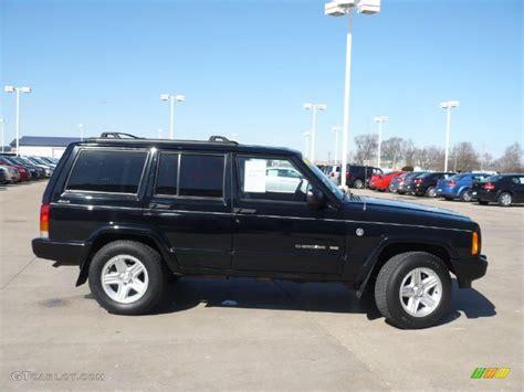 jeep limited black 2001 black jeep cherokee limited 4x4 27625399 photo 11