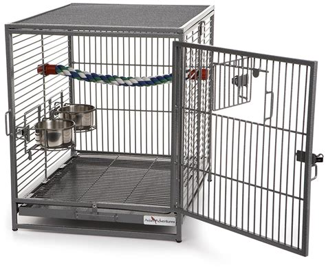travel bird cage parrot portable no assembly airplane