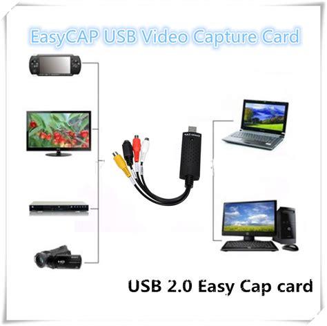 how to make a capture card easycap usb capture card adapter tv dvd vhs captura