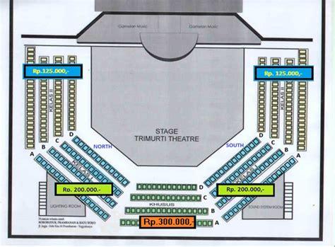 gambar layout panggung gambar jadwal harga ramayana ballet prambanan lay panggung