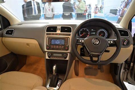 vento volkswagen interior 2015 vw vento facelift revealed in india