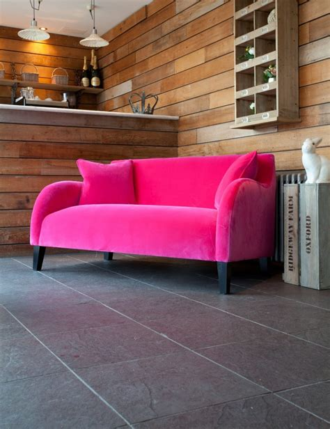 hot pink couches 40 velvet sofas that add a bit of sex appeal to the house