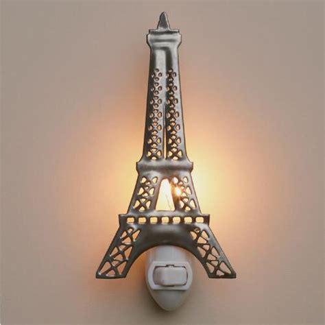 Handcrafted Metals - handcrafted metal eiffel tower light world market