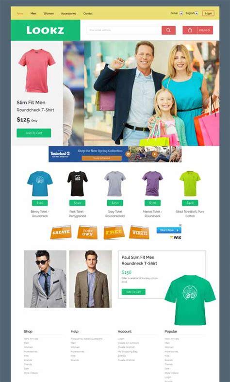50 Best Ecommerce Website Templates Free Premium Freshdesignweb Free Responsive Ecommerce Website Templates