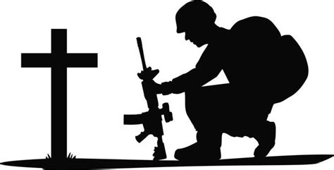 soldier silhouette clip art library