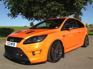 Orange Ford Ford Focus Orange