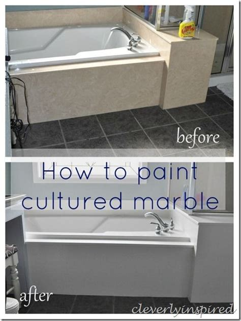 Can You Paint Cultured Marble Vanity Top by You To Tell Me I Can Paint Black Tub Shower