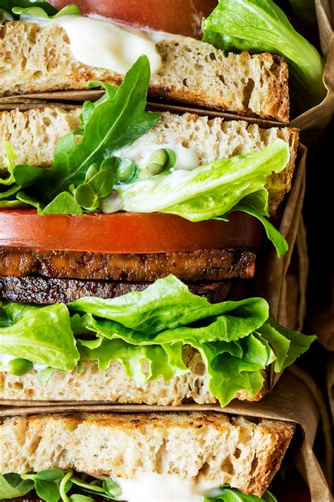 Ready Blt 03 Batik vegan blt sandwich with aquafaba mayo lazy cat kitchen