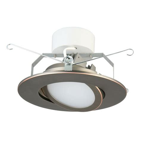 lithonia lighting 65bemw led 30k m6 lithonia lighting 6 in oil rubbed bronze recessed gimbal