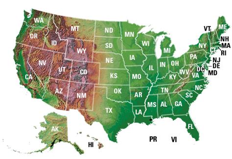 us map state boundaries contact usgs offices in your state arizona