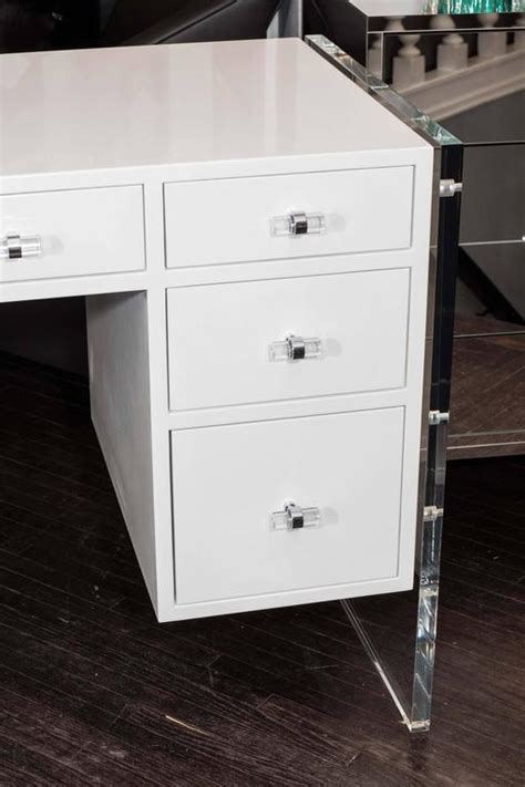 White Desk With Drawers On Both Sides by White Desk With Drawers On Both Sides Whitevan