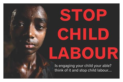 Top Design Inspiration Sites by Stop Child Labour Ads Of The World
