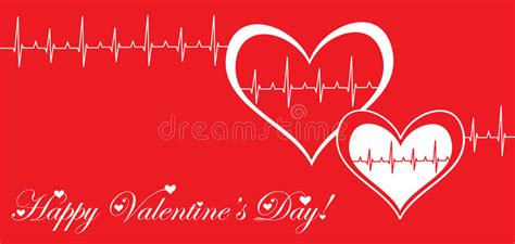 valentines day post s day post card royalty free stock photos