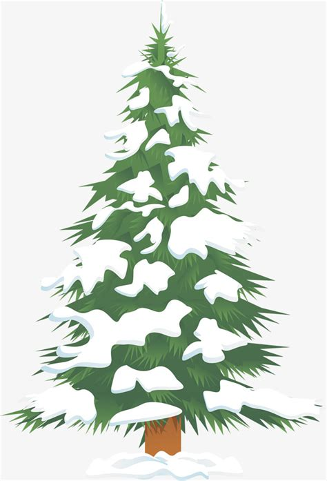 green head christmas tree snow fall green snow tree green the snow tree png image and clipart for free
