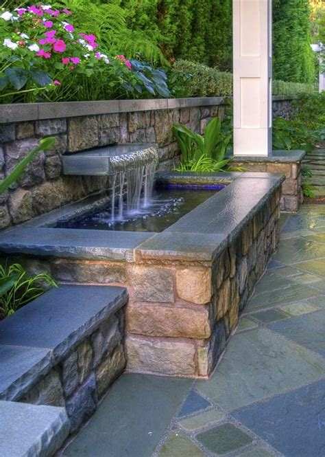 backyard wall best 25 water features ideas on pinterest