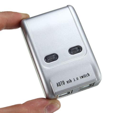 Auto Switch Printer Usb 2 0 2 Port 2 port usb 2 0 auto printer switch hub selector