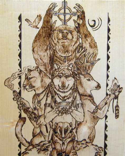 totem animals by fuocorupestre on deviantart